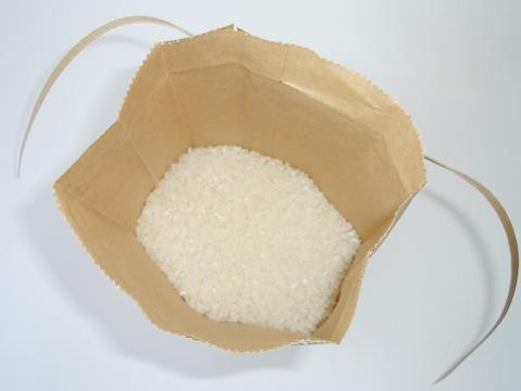 精米を入れた米袋