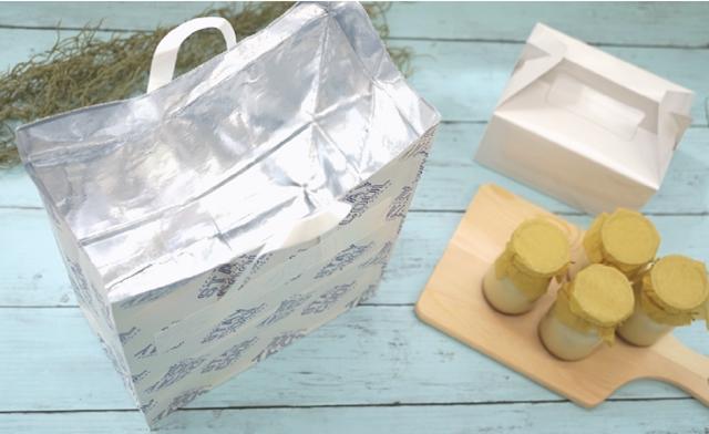 紙製保冷袋使用イメージ