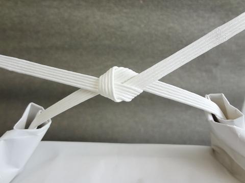 米袋のきれいな結び方